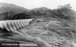 Stwlan Dam c.1965, Blaenau Ffestiniog