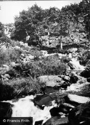 Blaenau Ffestiniog, The Falls c.1930
