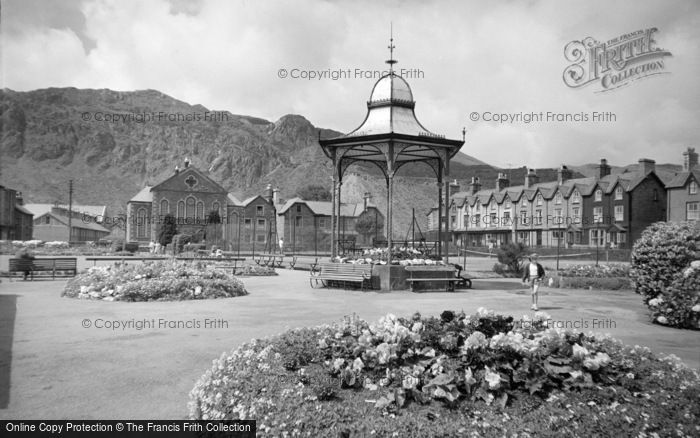 Photo of Blaenau Ffestiniog, The Park 1961