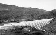 Blaenau Ffestiniog, The Top Dam c.1965
