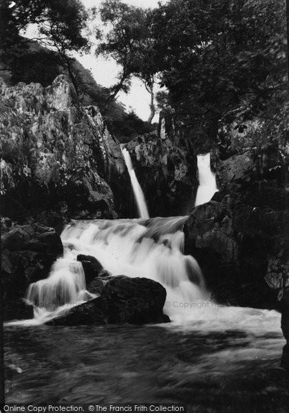 Blaenau Ffestiniog, Upper Chymmerau Falls c.1930