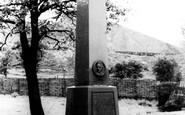 Blaenavon, The Memorial To Gilchrist Thomas c.1960