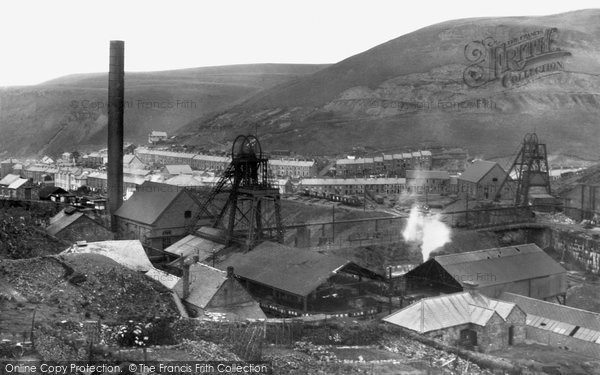 Photo of Blaengwynfi, Western Colliery 1938