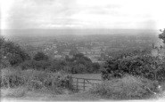 Blagdon Hill, View From The Hills 1923