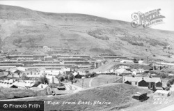 Blaina, General View From East c.1955