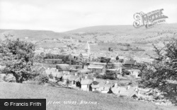 Blaina, General View From West c.1950