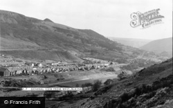 Blaina, General View From West c.1960