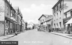Blaina, High Street c.1955