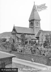 Blaina, St Peter's Church c.1950