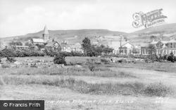 Blaina, View From Pilgrims Park c.1955