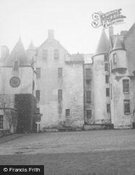 Blair Castle, Clock Tower 1949, Blair Atholl