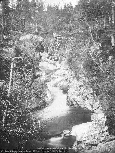 Blair Atholl, On The Bruar Below The Falls c.1890