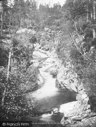 On The Bruar Below The Falls c.1890, Blair Atholl