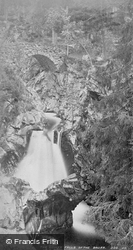 The Lower Falls Of The Bruar c.1878, Blair Atholl