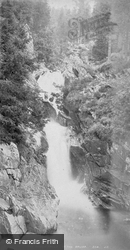 The Middle Falls Of The Bruar 1878, Blair Atholl