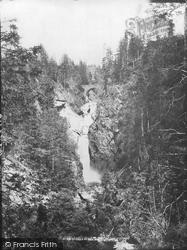 Upper Falls Of Bruar c.1890, Blair Atholl