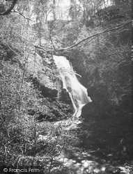 Upper Falls Of Fender c.1890, Blair Atholl