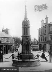 Blairgowrie, Macpherson Monumental Fountain c.1900