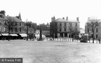 Blairgowrie, Wellmeadow and Bridge c1900