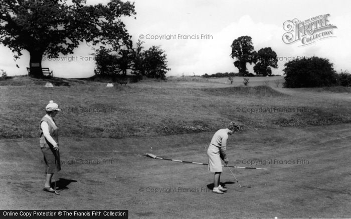 Photo of Blakedown, The Golf Course c.1965