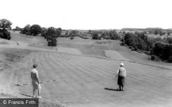Blakedown, the Golf Course c1965