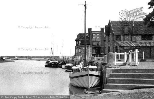 Blakeney, Quay Looking East c.1950