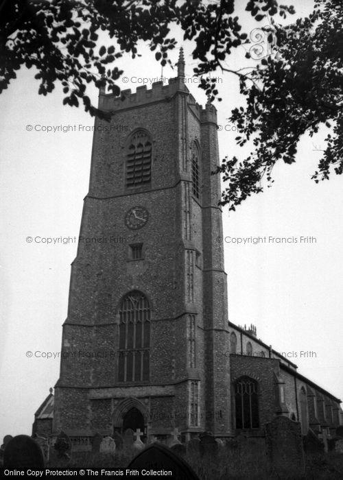 Blakeney, St Nicholas' Church c.1950