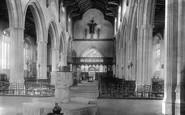Blakeney, The Church Interior 1925