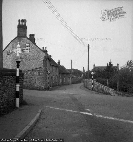 Blakeney, The Cross Roads c.1950
