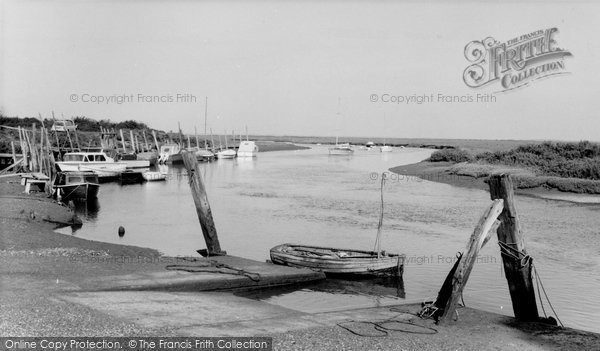 Blakeney, The Harbour c.1965