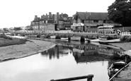 Blakeney, The Quay And Hotel c.1960