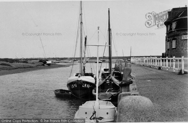 Blakeney, The Quay c.1950