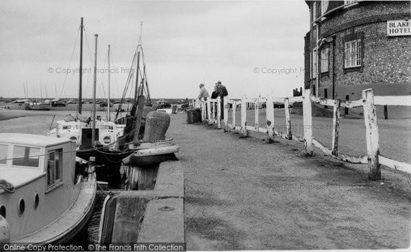 Blakeney, The Quay c.1960