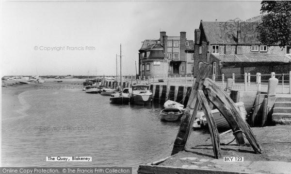 Blakeney, The Quay c.1965