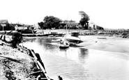 Blakeney, The Quay Side 1925