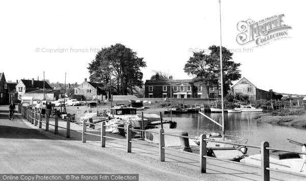 Blakeney, The Quay, West End c.1965