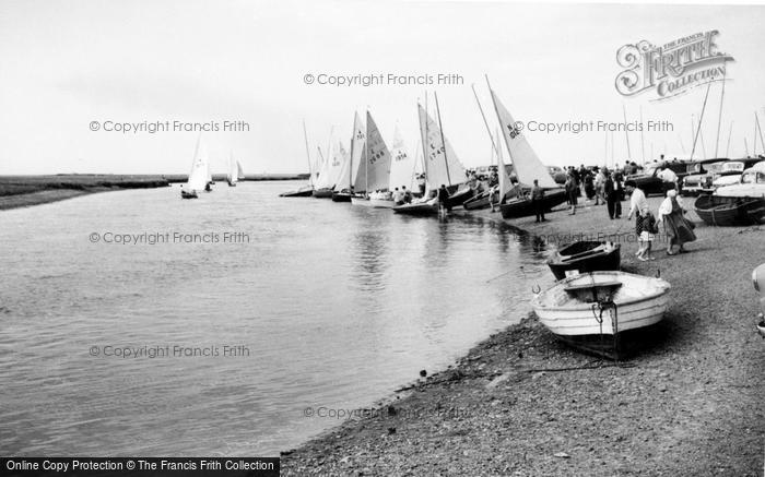 Blakeney, The Regatta c.1965