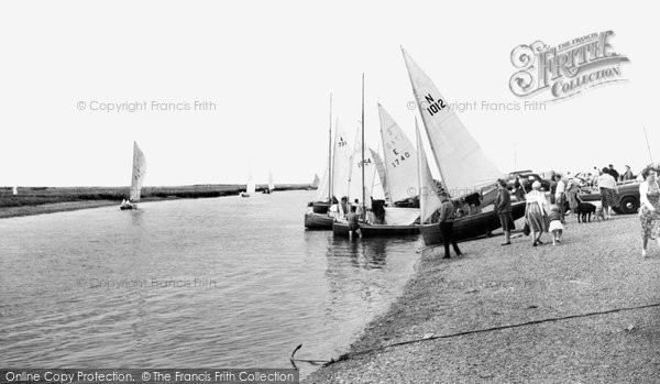 Blakeney, The Regatta c.1965