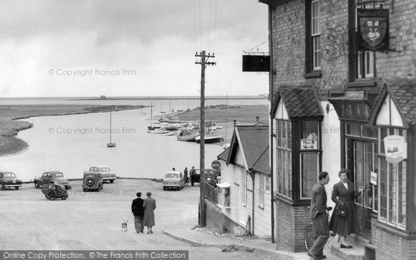 Blakeney, The Rising Tide From High Street c.1961