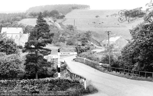 Photo of Blanchland, Bay Bridge c1955, ref. B555066