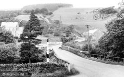 Blanchland, Bay Bridge c.1955