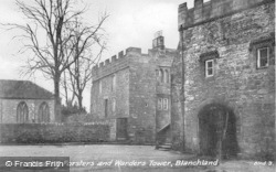 Blanchland, Dorothy Forsters And Warders Tower c.1935