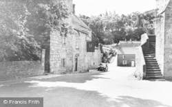 Blanchland, Lord Crew Arms Hotel c.1960