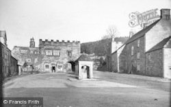 Blanchland, Post Office And Lord Crewe Arms c.1935
