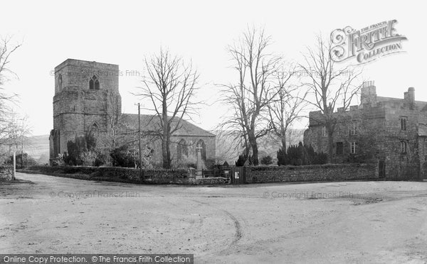 Photo of Blanchland, St Mary's Church And Dorothy Forsters Tower c.1935