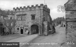 Blanchland, The Gateway And Post Office c.1935