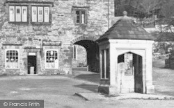 Blanchland, The Post Office And Square c.1935