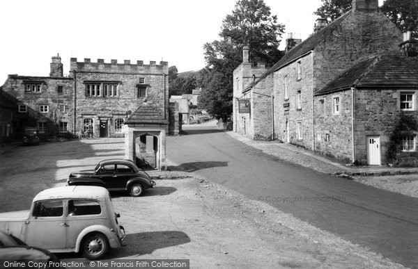 Photo of Blanchland, the Square c1955, ref. B555078