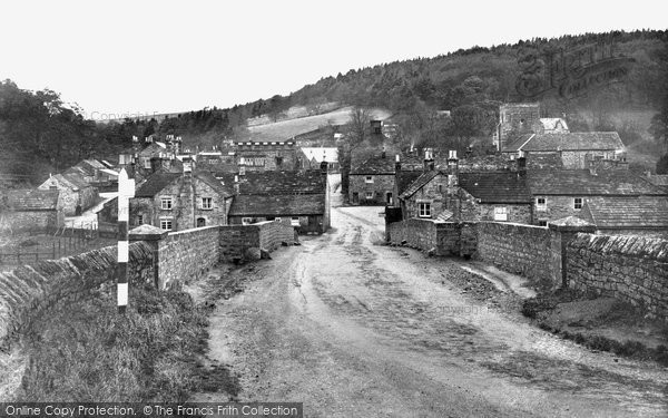 Photo of Blanchland, the Village c1950, ref. B555004