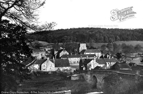 Photo of Blanchland, the Village c1950, ref. B555010